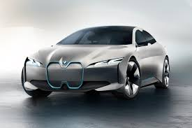 bmw concept car bmw i vision dynamics concept is a 373 mile ev that u0027s a bit homely