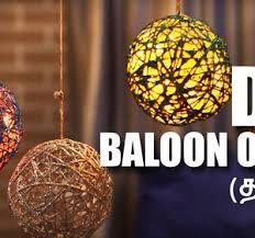 Balloon Diy Decorations Mad Stuff With Rob Tamil How To Make Balloon Orbs Diy Craft