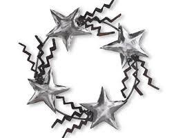 metal wreath etsy