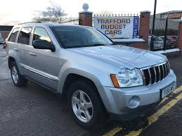 jeep cherokee sport 2005 jeep grand cherokee 3 0 crd ltd 2005 clean solid cheapest in uk