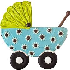 baby buggy cake parenting