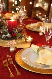 25 elegant christmas table settings holiday table ideas