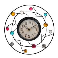 rustic and contemporary freestanding and wall clocks roman at home