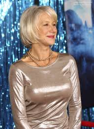 over sixty hair style photos helen mirren silver hair and dress for a women aged over 60