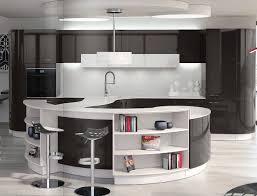 basse cuisine étagère basse contemporaine pour cuisine audace du galbe perene