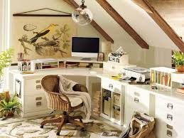 beautiful home office design ideas in attic house contemporary