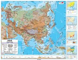 Blank Physical Map Of Europe by Online Maps Asia Physical Map