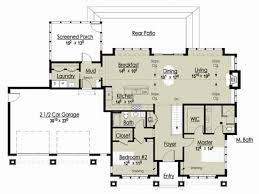 cottage house floor plans 1 story cottage house plans inspirational award winning open floor