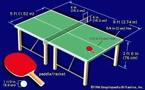 ping pong table dimensions inches official ping pong table size standard ping pong table size ping