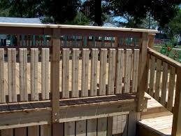 deck railing designs ideas wood deck ideas perfect amazing