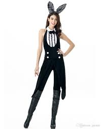 bunny costume classic backless tuxedo bunny costume features a jumpsuit