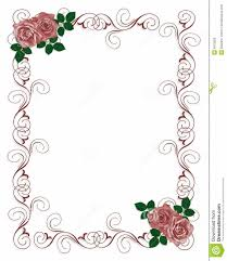 blank wedding invitations wedding invitation template floral new floral blank wedding