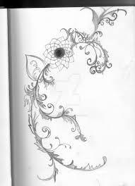 another flower vine thing by ashedarkrose13 on deviantart