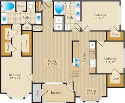 floor plans 1500 sq ft floor plans post oak park apartments