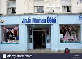 Jojo Meme Bebe - the jojo maman bebe store on peascod street in windsor stock photo