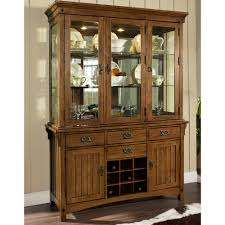 buffets a gorgeous wooden dining room hutch with wine rack and