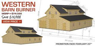 Free Barn Plans Delightful Free Barn Plans With Loft 5 Feb Western 1 Jpg House