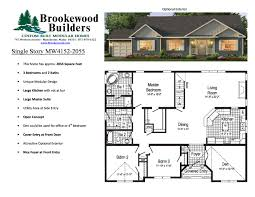 Wide House Plans by Perfect Double Wide Floor Plans 4 Bedroom 3 Bath Sq Ft Modular