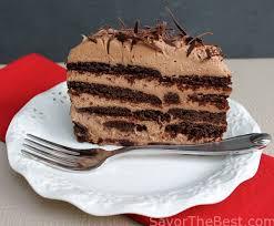mocha chocolate icebox cake savor the best