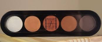 paris make up atelier eyeshadow palette in t15 brun dore review