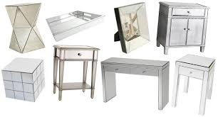 Sei Mirrored Vanity Hayworth Vanity Desk Home Vanity Decoration