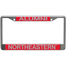 harvard alumni license plate frame northeastern bookstore alumni license plate frame