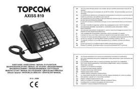 si e axiss topcom axiss 810 cid mobile phone manual for free now
