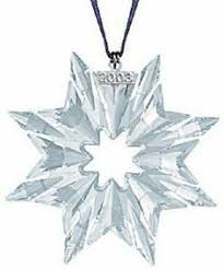 2012 swarovski snowflake ornament luxury