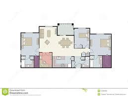 uncategorized floor plan furniture clipart incredible three