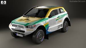 mitsubishi dakar 360 view of mitsubishi asx dakar racing 2014 3d model hum3d store