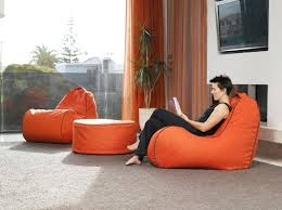 Bean Bag Armchairs Lujo U0027s Shapely And Stylish Bean Bag Is A Comfy Chair Suited For