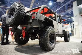 jeep silver 2016 2016 sema rugged ridge silver jeep jk wrangler unlimited