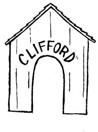 coloring page of a big dog house of clifford the big red dog coloring page coloring sun