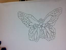 butterfly cross 2 by blackwidowtat2 on deviantart