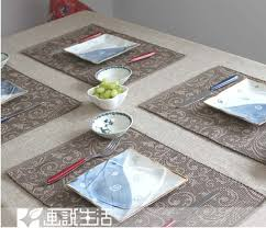 table mats and coasters chinese classical habits placemats the creative fabric cotton