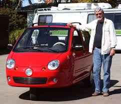 Wildfire Electric Car For Sale by Wayland Car Dealer Offers Unusual Fully Enclosed Motorcycle