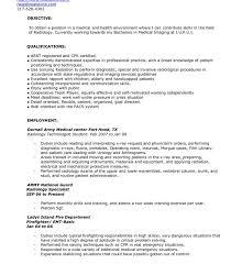 resume exle template radiologic technologist resume exles templates x tech