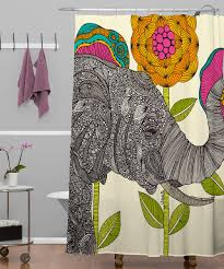 Graphic Shower Curtains by Color Elephant Shower Curtain Elephant Shower Curtain U2013 Home