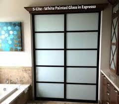 frosted glass pocket door glass doors for bathrooms glass doors