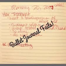 bullet journal fails life hacks quick tips