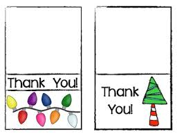 christmas thank you cards freebie christmas thank you cards for teachers by class of kinders