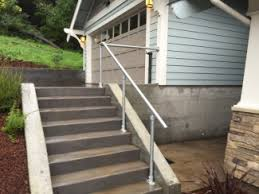 Handrails For Outdoor Steps Diy Step Handrail Plans And Ideas Simplified Building