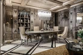 dining rooms flower in vase ceramic floor cream chair gray
