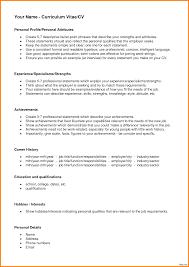 personal resume exles greg noonan bio personal profiles exle resume 15a