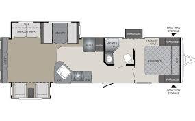 30 Ft Travel Trailer Floor Plans Keystone Bullet Premier Travel Trailer Chilhowee Rv Center