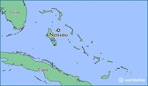 bahamas on a world map where is nassau the bahamas nassau new providence map