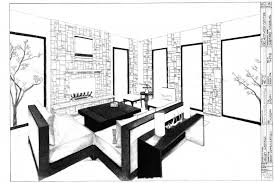 design your own room layout peenmedia com two point perspective interior design two point perspective living
