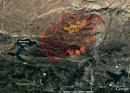 California Wildfires Highway Closures by The Spread Of The Pilot Fire Slows U2013 Wildfire Today