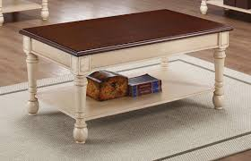retro white coffee table at sustainable coffee us