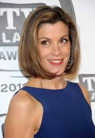 hairstyles for fine hair a line bob hairstyle ideas with straight line for fashionable women over 60